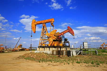 pumping unit: The oil pump, industrial equipment