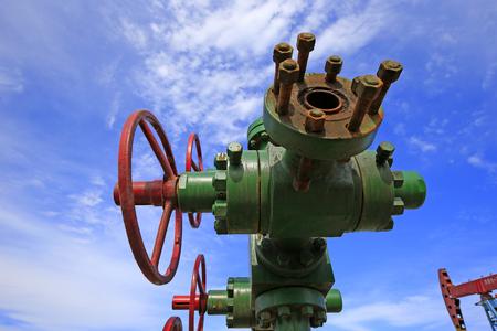 tuyaux et valves pétrolières