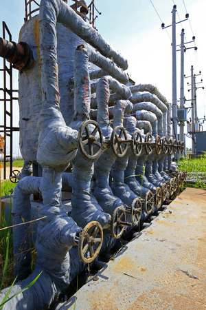 stainless: Oil pipes and valves