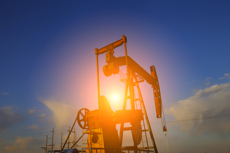 The oil pump in an industrial industry