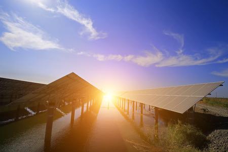 Solar panels Stok Fotoğraf