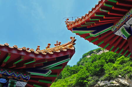 Chinese traditional style of architecture