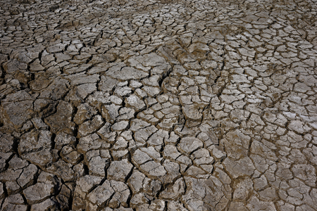 Climate warming dry chapped land