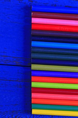 Color pencil, close-up  Stock Photo
