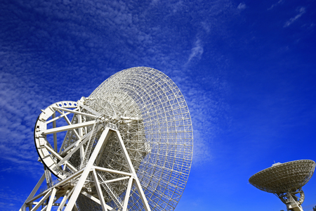 The observatory radio telescope 写真素材