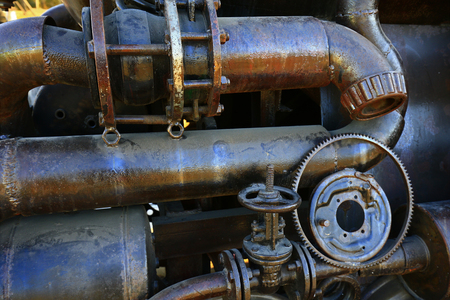 The local features of industrial equipment