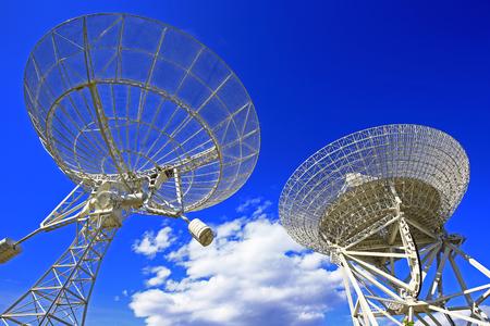 Obserwacyjny radioteleskop Zdjęcie Seryjne