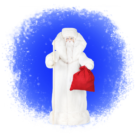 grandfather frost: Russian Grandfather Frost, Santa Claus Stock Photo