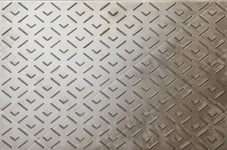 ironworks: relief metal or plastic plate background, texture Stock Photo