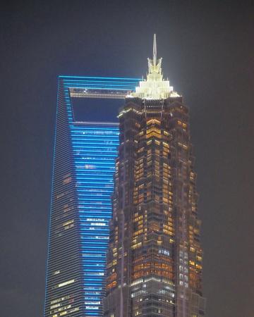 Shanghai Highrise Reklamní fotografie