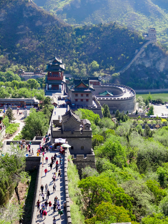 china people: Seven Wonders of the World Great Wall of China