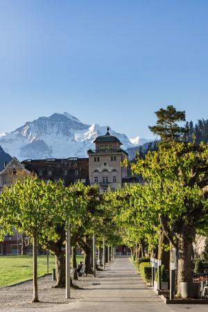 interlaken: jungfrau interlaken Switzerland