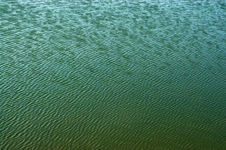corrugation: Aquaculture pond surface Stock Photo