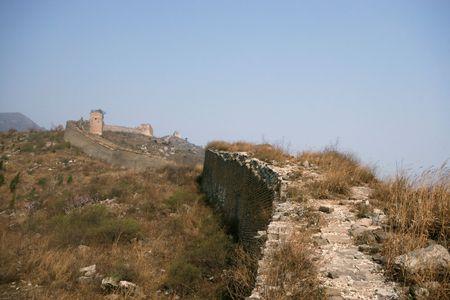 Bothriochloa Tongkuangyu the original ecological Great Wall photo