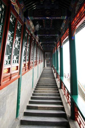 oldest: the scenery of Summer Palace,beijing,china. Stock Photo