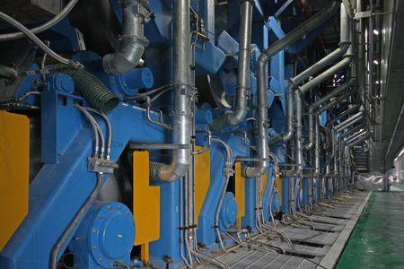 machinery and equipment Standard-Bild