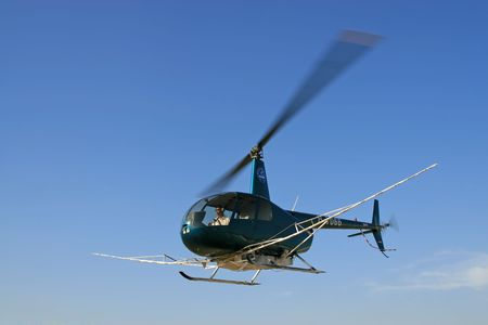 low-flying agriculture-specific helicopters