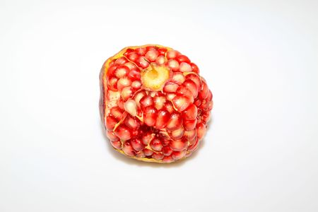 close up of pomegranate fruit pulp Stock Photo - 6198087