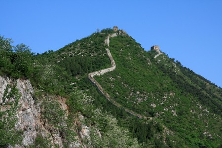 the original ecology of the great wall in north china Stock Photo - 7031704