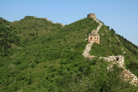the original ecology of the great wall in north china Stock Photo - 7031707