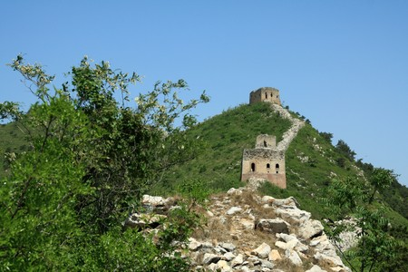 the original ecology of the great wall in north china Stock Photo - 7031666
