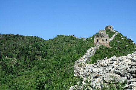 the original ecology of the great wall in north china Stock Photo - 7031703