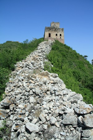 the original ecology of the great wall in north china Stock Photo - 7031734