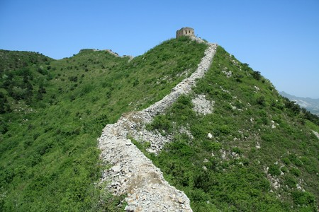 the original ecology of the great wall in north china Stock Photo - 7031614