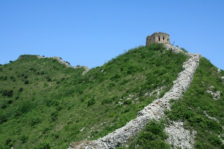 the original ecology of the great wall in north china Stock Photo - 7031671