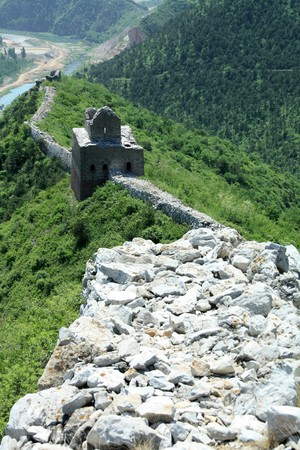 the original ecology of the great wall in north china Stock Photo - 7031721