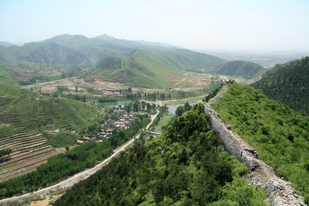 village scenery in north china photo