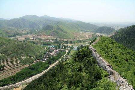 village scenery in north china Stock Photo - 7031701