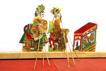 props: shadow props, one of chinese traditional culture.