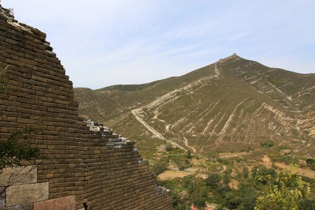 the original ecology of the great wall in north china Stock Photo - 7095954