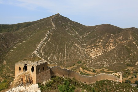 the original ecology of the great wall in north china Stock Photo - 7095957