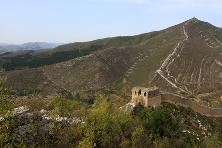 the original ecology of the great wall in north china Stock Photo - 7095956