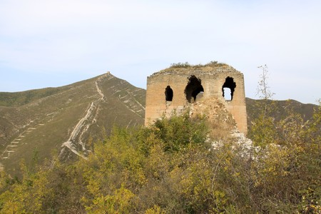 the original ecology of the great wall in north china Stock Photo - 7095973