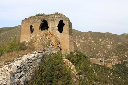 the original ecology of the great wall in north china Stock Photo - 7095964