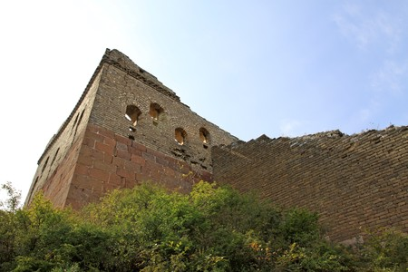 the original ecology of the great wall in north china photo