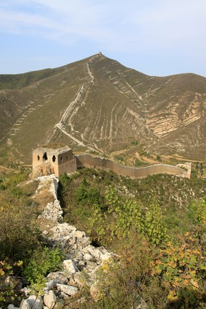 the original ecology of the great wall in north china Stock Photo - 7114454