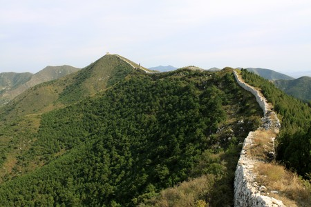 the original ecology of the great wall in north china Stock Photo - 7114442