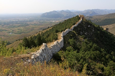 the original ecology of the great wall in north china Stock Photo - 7114453