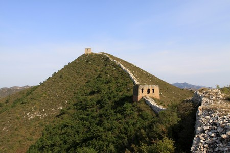 the original ecology of the great wall in north china Stock Photo - 7114435