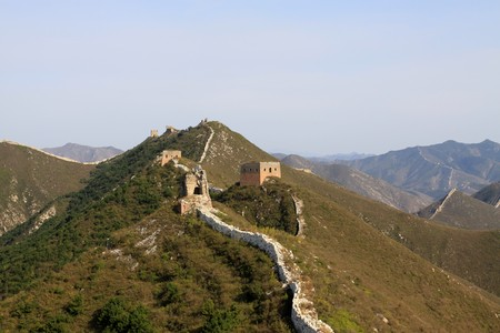 the original ecology of the great wall in north china Stock Photo - 7114436