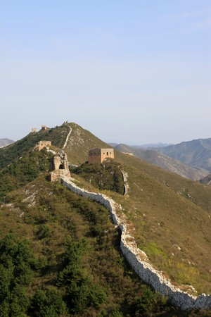 the original ecology of the great wall in north china Stock Photo - 7114437