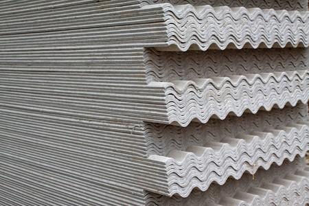 Erstellen Sie eine Nahaufnahme von Asbest Fliese, Luannan County, Hebei Province of China.  Standard-Bild - 7240458