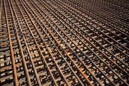 Stahl bars Konstruktion-Materialien, in einer Baustelle, Nordchina.  Standard-Bild - 7400745