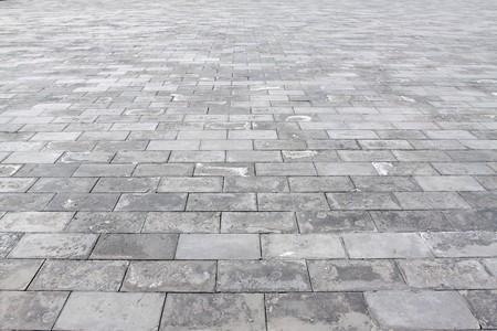 brick floor of temple of heaven in beijing,china. photo