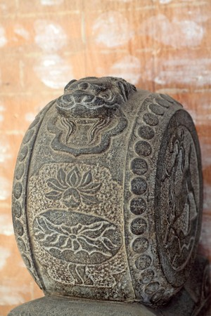 stone carving: stone carving, close up of pictures, china.