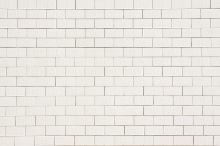 ceramic: white ceramic tile wall, creative picture rural north china